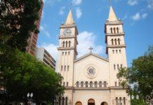 Catedral de Santo Antônio na Praça José Bonifácio (Foto: Diocese de Piracicaba)