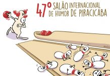 Cartaz do 47º Salão Internacional de Humor de Piracicaba